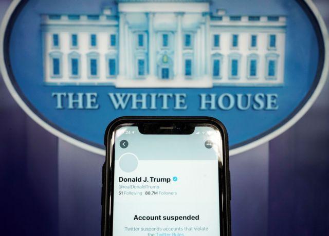 ΗΠΑ : Το Twitter μπλόκαρε μόνιμα τον Ντόναλντ Τραμπ | tanea.gr