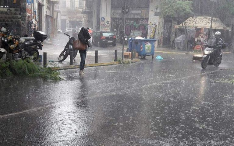 Καιρός : Ισχυρές βροχές και καταιγίδες – Ποιες περιοχές θα πληγούν | tanea.gr