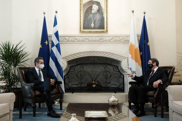 Μητσοτάκης : Μόνη λύση για το Κυπριακό η διζωνική δικοινοτική ομοσπονδία | tanea.gr