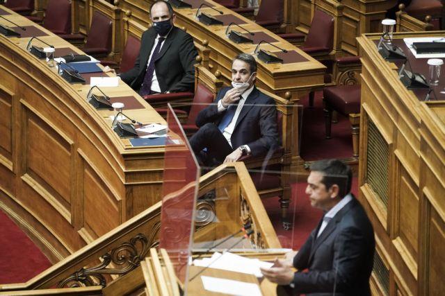 Μητσοτάκης VS Τσίπρα στη Βουλή για #MeToo, Λιγνάδη και Μενδώνη   tanea.gr
