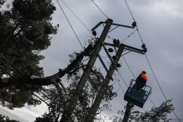 ΔΕΔΔΗΕ : Παραμένουν χωρίς ρεύμα 400 νοικοκυριά | tanea.gr