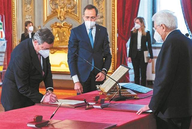 Ο Ντράγκι απέναντι στο... καζίνο της ιταλικής πολιτικής | tanea.gr
