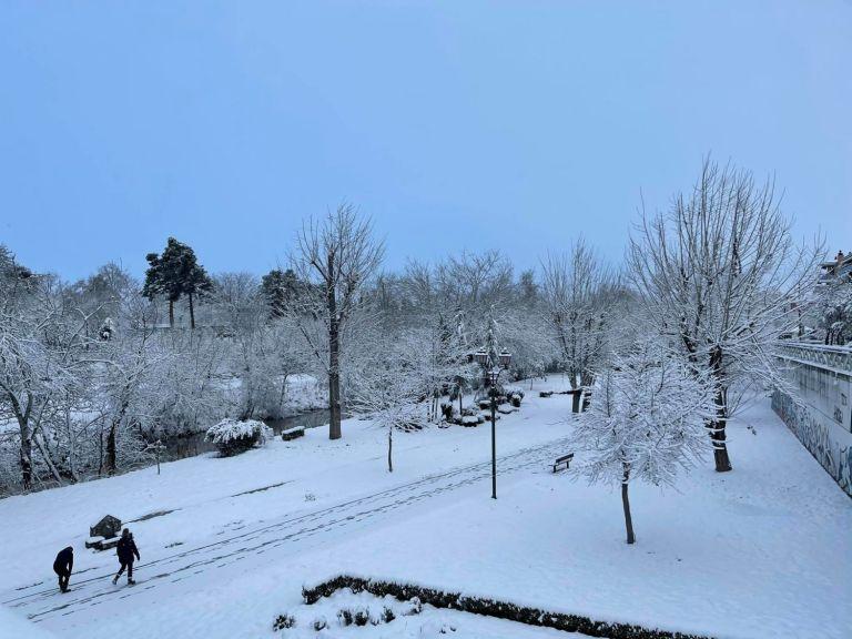 Μήδεια : Πλησιάζει την Αττική η κακοκαιρία - Δείτε εικόνες από την χιονισμένη Ελλάδα | tanea.gr