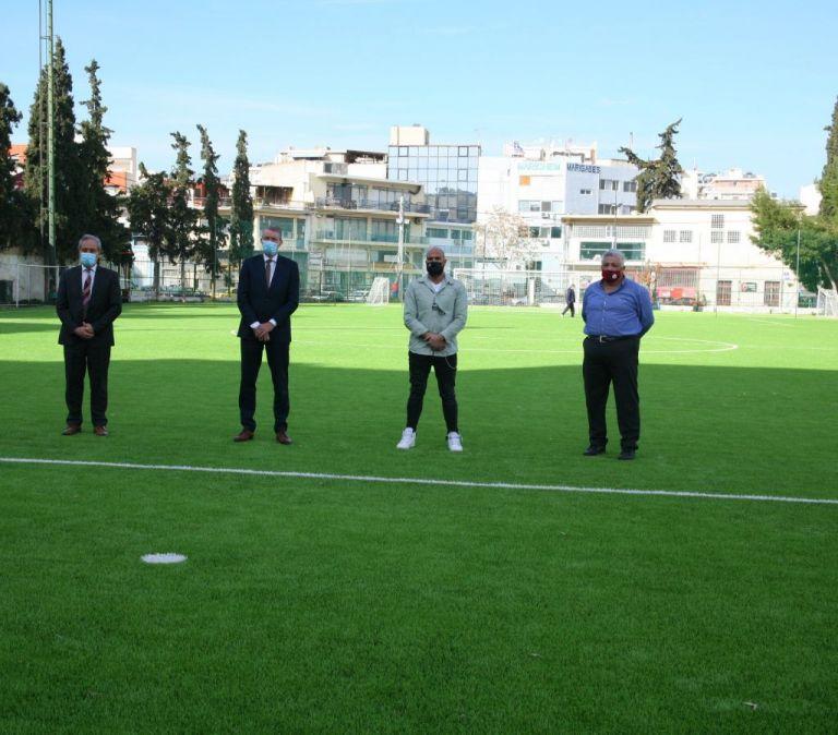 Πειραιάς : Παραδόθηκε το γήπεδο – κόσμημα στον Αγιο Διονύσιο | tanea.gr