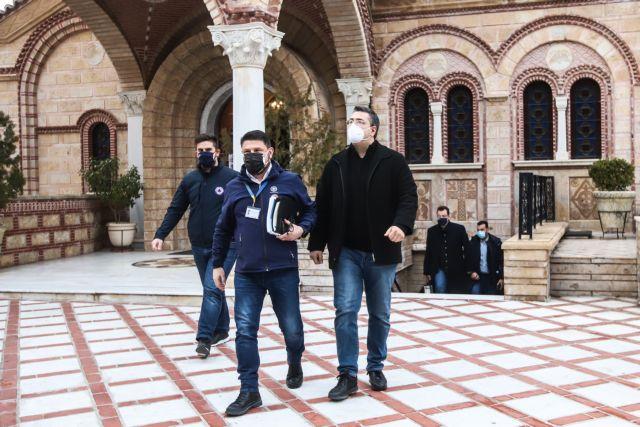 Τζιτζικώστας στο MEGA : Δεν είχε ταξιδέψει ο ιερέας από τη Θεσσαλονίκη | tanea.gr