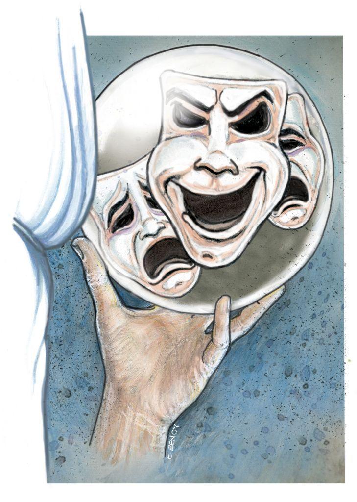 Το σκίτσο της Έφης Ξένου για τα ΝΕΑ της Πέμπτης 25 Φεβρουαρίου