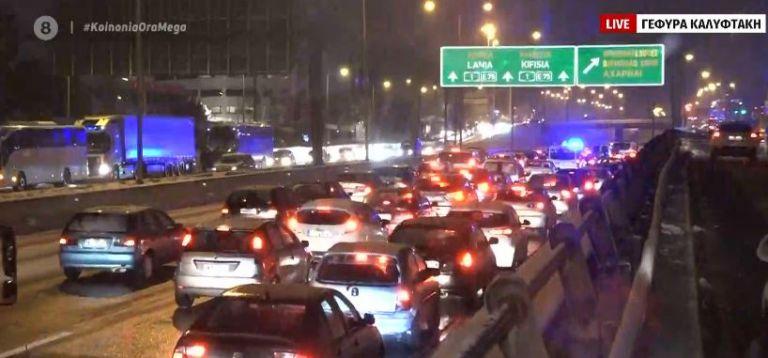 Ουρές χιλιομέτρων στην Αθηνών – Λαμίας μετά τη διακοπή της κυκλοφορίας | tanea.gr