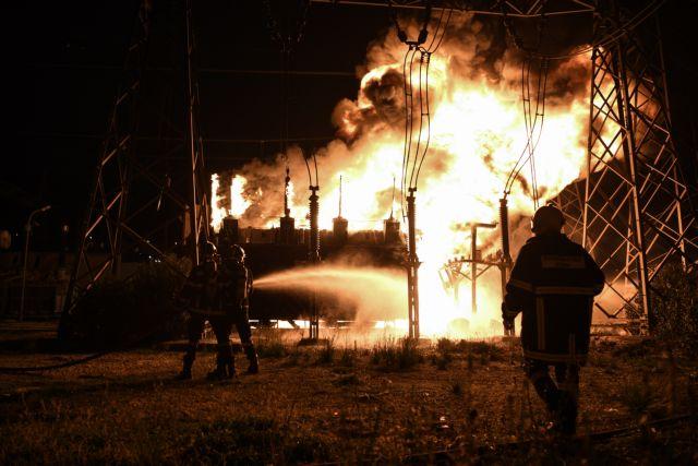 Πυρκαγιά στο ΚΥΤ Ασπροπύργου : Καμία ανησυχία για επιβάρυνση της ατμόσφαιρας | tanea.gr