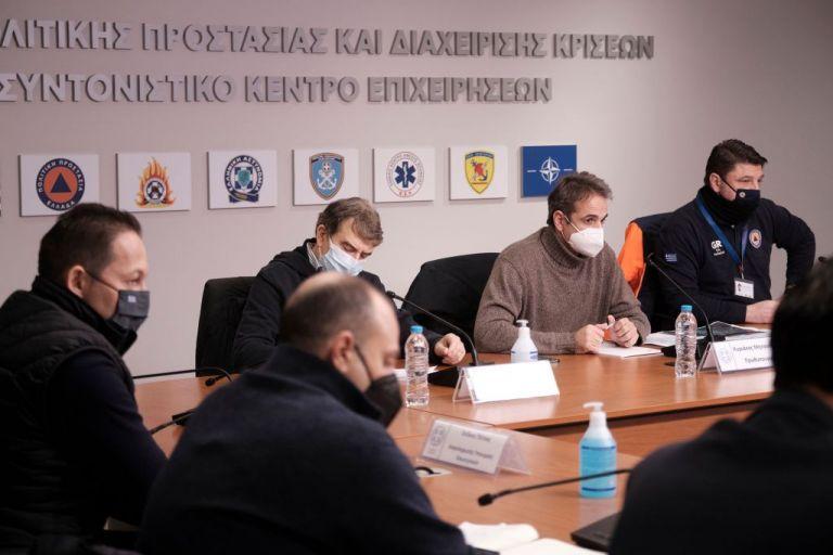 Μητσοτάκης : Επί ποδός ο κρατικός μηχανισμός για να αντιμετωπίσουμε ένα πρωτόγνωρο φαινόμενο | tanea.gr