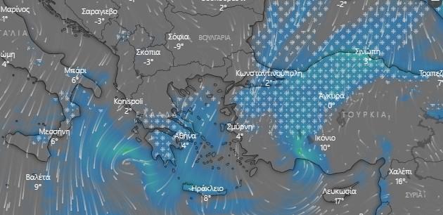 Πότε θα ενταθεί ο χιονιάς στην Αττική – Αναλυτική πρόγνωση Καλλιάνου | tanea.gr