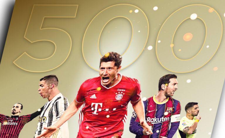 Δέκα παίκτες που πλησιάζουν τα 500 γκολ στην καριέρα τους   tanea.gr