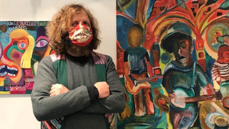 Η τέχνη του Big Jeff: Η άλλη πλευρά ενός φανατικού θαμώνα συναυλιών | tanea.gr