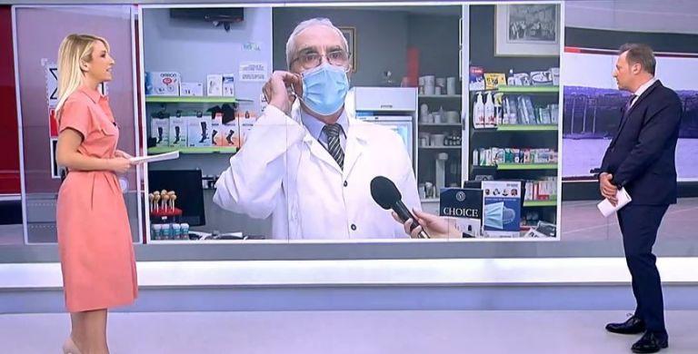Χαμός στον «αέρα» του ΣΚΑΪ με τον Λουράντο: Ντροπή σας, φύγετε τώρα από το φαρμακείο μου. Άντε γειά σας! | tanea.gr