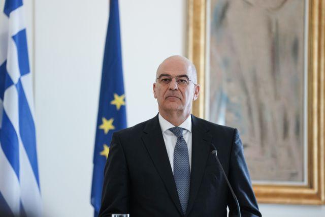 Οι κυρώσεις κατά της Τουρκίας να παραμείνουν στο τραπέζι ως εργαλείο αποτροπής λέει ο Δένδιας | tanea.gr