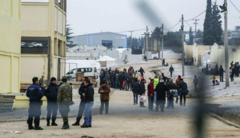 Αιματηρό επεισόδιο στη δομή φιλοξενίας προσφύγων στα Διαβατά   tanea.gr