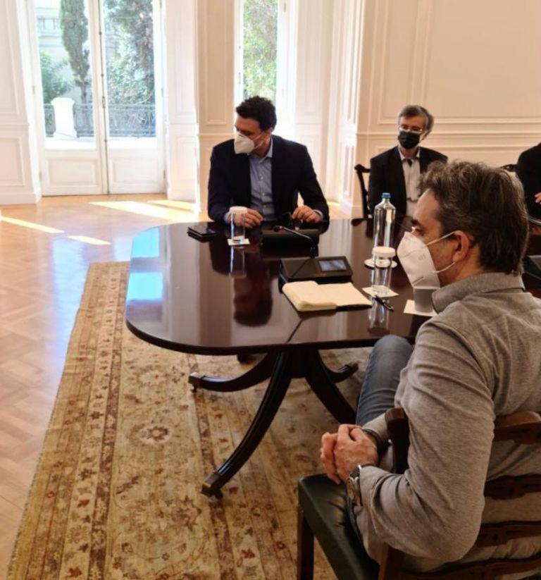 Σύσκεψη στο Μαξίμου υπό τον Μητσοτάκη για την πανδημία | tanea.gr