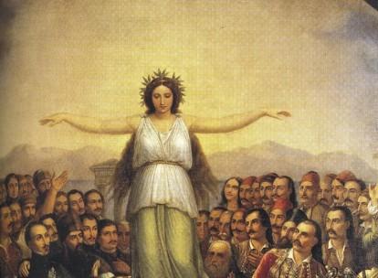 «Η Ελλάς ευγνωμονούσα» : Η ιστορία του σπουδαίου πίνακα του Θεόδωρου Βρυζάκη | tanea.gr