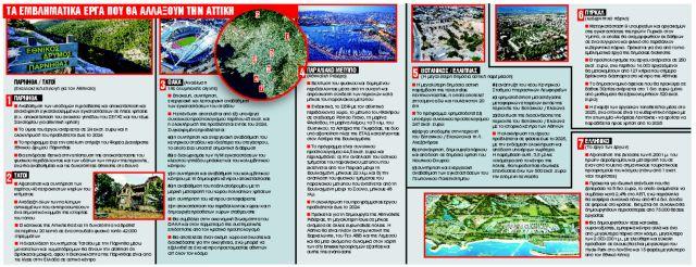 Τα 6+1 έργα που θα μεταμορφώσουν την όψη της Αθήνας | tanea.gr