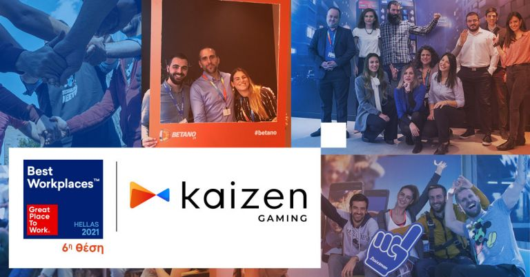«H Κaizen Gaming Best Place to Work 2021» | tanea.gr