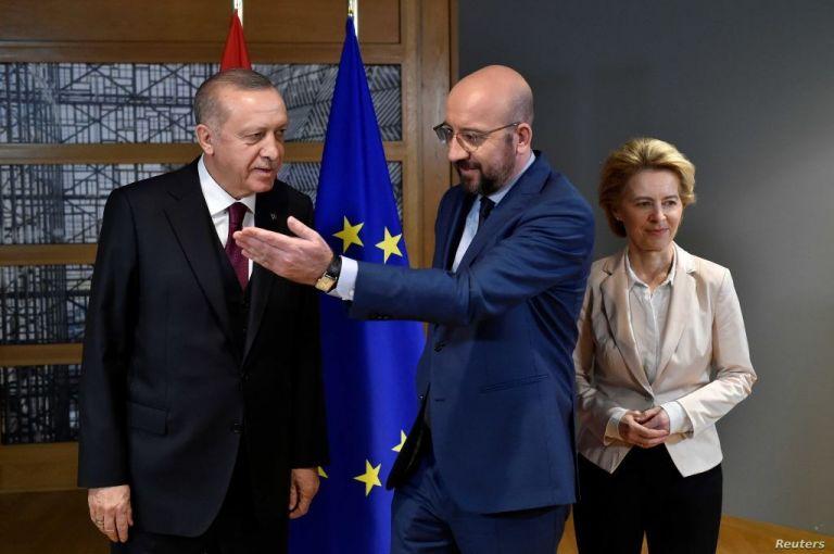 Στην Τουρκία την Τρίτη Σαρλ Μισέλ και Φον ντερ Λάιεν | tanea.gr