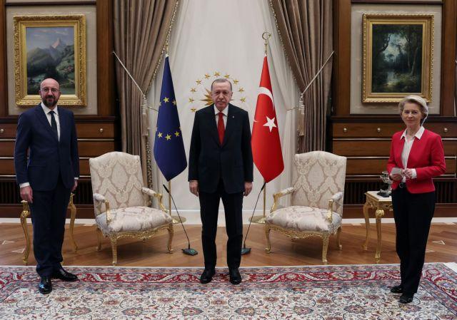 Ο Τσαβούσογλου καρφώνει τους Ευρωπαίους για την... όρθια Ούρσουλα   tanea.gr