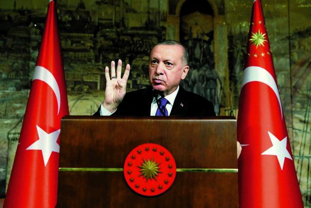 Το κόμμα του Ερντογάν αντιμέτωπο με κύμα καταγγελιών για διαφθορά | tanea.gr