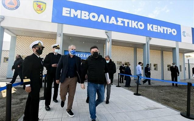Πάτρα : Ξεκινάει σήμερα τη λειτουργία του το mega εμβολιαστικό κέντρο | tanea.gr