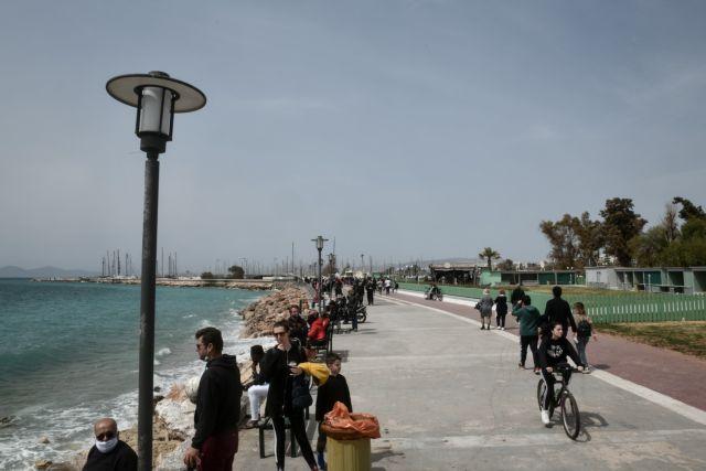 Lockdown: Ξεχύθηκαν και πάλι στις παραλίες οι πολίτες - Ανάγκη για ανάσα   tanea.gr