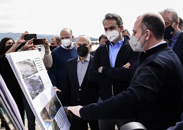 Μητσοτάκης : Έναυσμα για την αναβάθμιση της περιοχής η αποκατάσταση της διώρυγας της Κορίνθου | tanea.gr