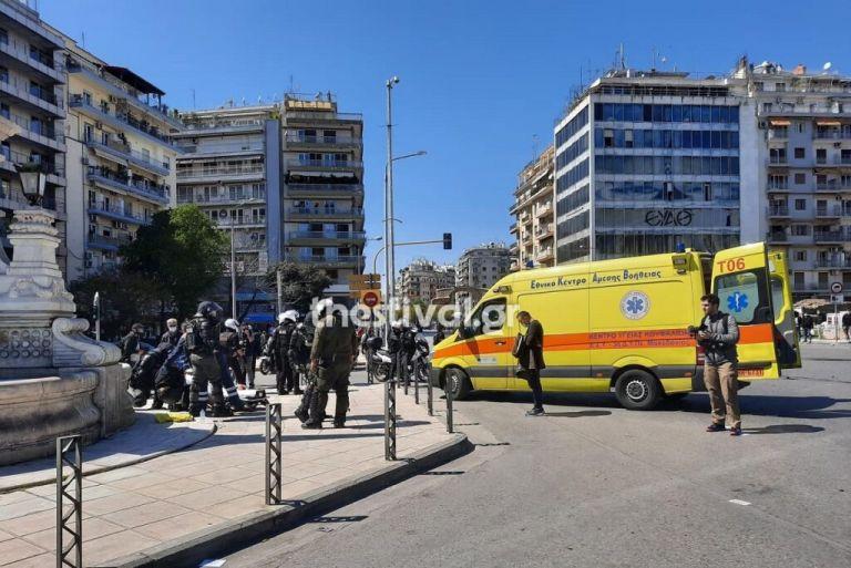 Θεσσαλονίκη : Τραυματίες από τα επεισόδια στο φοιτητικό συλλαλητήριο | tanea.gr