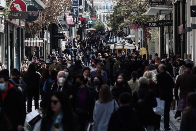 Εικόνες... 2019 στην Ερμού – Λαοθάλασσα για ψώνια και βόλτα στο κέντρο της Αθήνας | tanea.gr