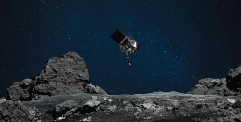 Το σκάφος OSIRIS-REX άγγιξε αστεροειδή σε απόσταση 298 εκατ. χλμ από τη Γη   tanea.gr