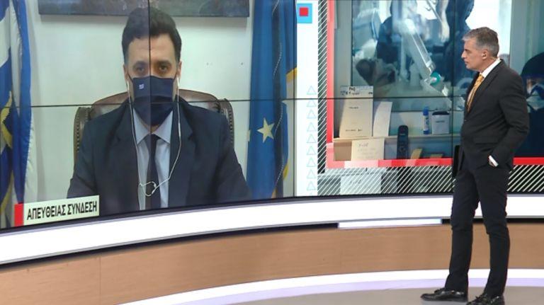 Κικίλιας στο MEGA: Δύσκολος μήνας ο Απρίλιος για τα νοσοκομεία   tanea.gr