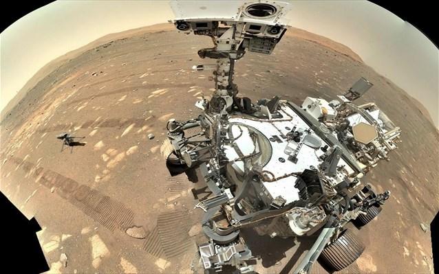 Το ρομποτικό ρόβερ της NASA παρήγαγε για πρώτη φορά οξυγόνο στον Άρη | tanea.gr