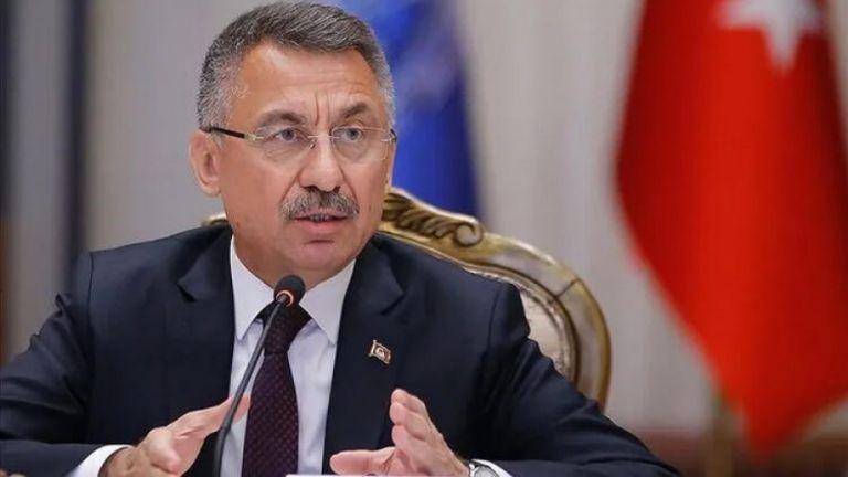 Προκλητική επίσκεψη του αντιπροέδρου της Τουρκίας Φουάτ Οκτάι στα κατεχόμενα   tanea.gr