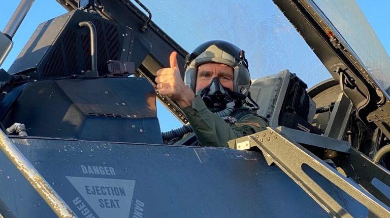 Ηνίοχος 21 : Η φωτογραφία του Πάιατ στο F-16 εξόργισε τους Τούρκους | tanea.gr