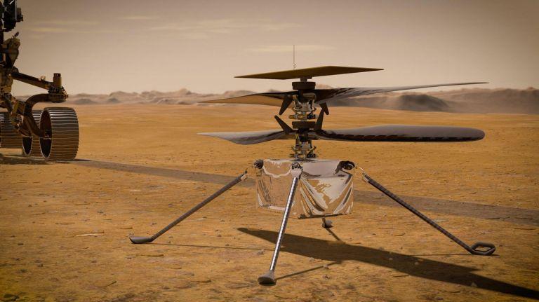 To Ingenuity ανοίγει φτερά για την παρθενική πτήση στον Άρη | tanea.gr