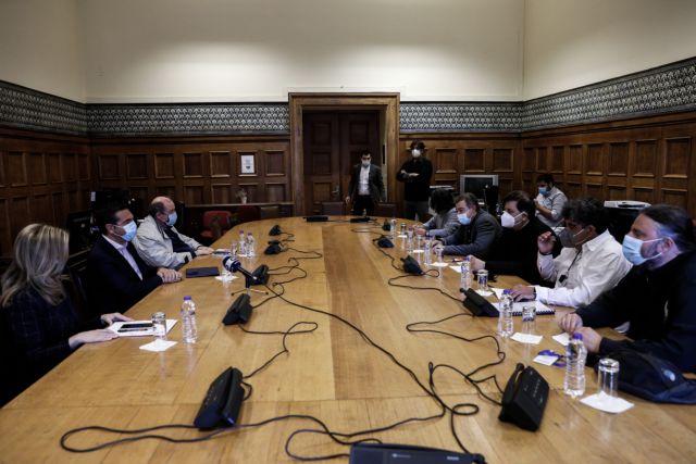 Αναστολή του νέου συστήματος εισαγωγής στα ΑΕΙ για φέτος ζήτησε ο Τσίπρας - Τι είπε για εμβολιασμούς εκπαιδευτικών και self test | tanea.gr