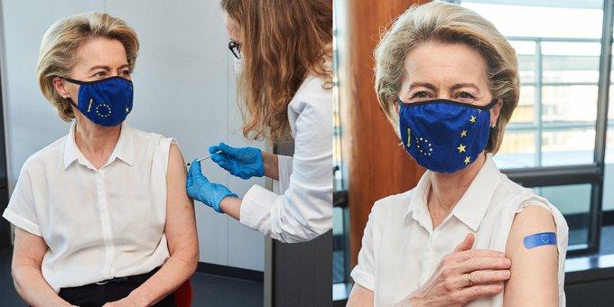 Με AstraZeneca θα εμβολιαστεί η Μέρκελ την Παρασκευή - Σήμερα ήταν η σειρά της Φον Ντερ Λάιεν | tanea.gr