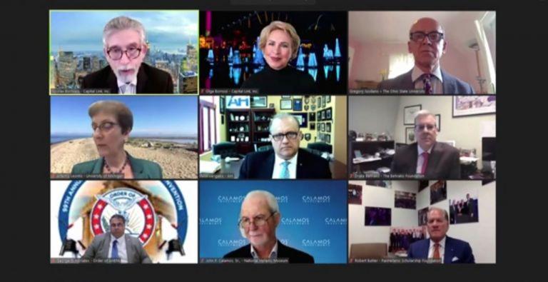 Έδρα Μιλτιάδη Μαρινάκη : Με επιτυχία η ψηφιακή συζήτηση για την Ελληνική Γλώσσα και τον Πολιτισμό | tanea.gr