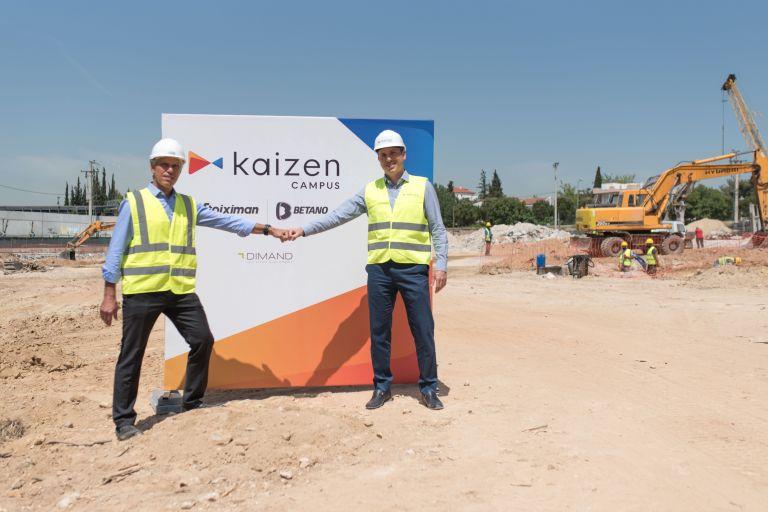 Kaizen Campus: Έναρξη εργασιών για τη δημιουργία του νέου κτιρίου γραφείων για την Kaizen Gaming   tanea.gr