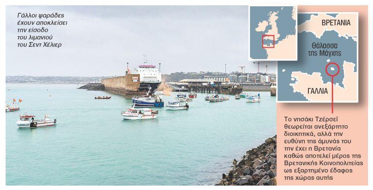 Γαλλοβρετανική ναυμαχία στη Μάγχη για τα ψάρια   tanea.gr