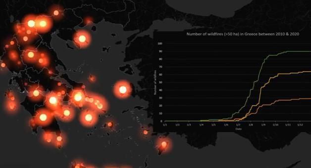 Οι δασικές πυρκαγιές στην Ελλάδα από το 2000 – Ποιες αποδείχθηκαν οι πιο καταστροφικές | tanea.gr