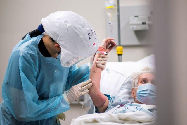 Σχεδόν οι μισοί νοσούντες με κοροναϊό βγαίνουν από το νοσοκομείο σε κακή κατάσταση   tanea.gr