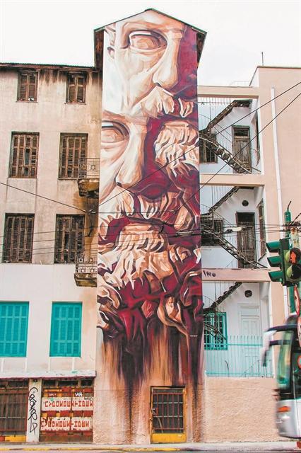 Ο τοίχος έχει τη δική του τέχνη | tanea.gr