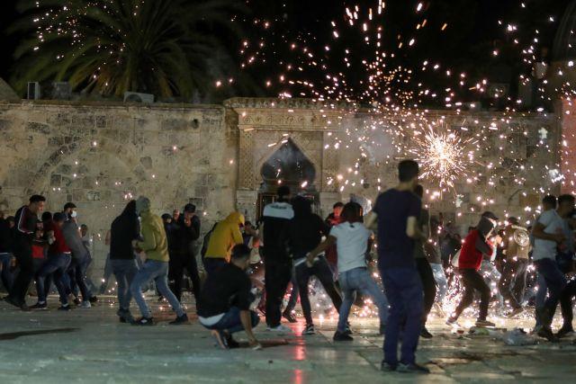 Ιερουσαλήμ: 17 τραυματίες από συγκρούσεις Παλαιστίνιων και Ισραηλινών | tanea.gr