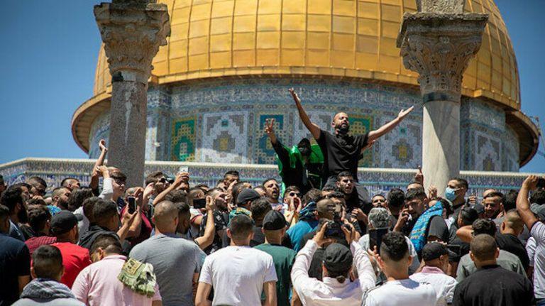 Χιλιάδες Παλαιστίνιοι καλούν τον Ερντογάν να παρέμβει στρατιωτικά   tanea.gr