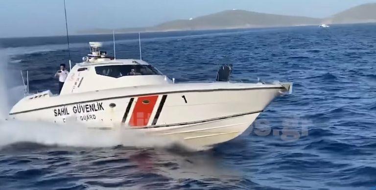 Επικίνδυνοι ελιγμοί από τουρκικές ακταιωρούς κοντά σε σκάφη της Frontex στο Αιγαίο | tanea.gr