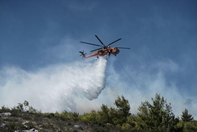 Φωτιά: Πύρινος εφιάλτης στην Κορινθία - 20 εναέρια στη μάχη με τις φλόγες που κινούνται προς Αλεποχώρι   tanea.gr