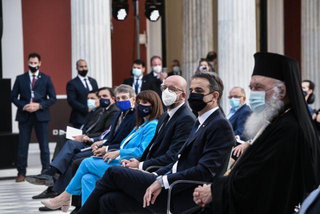 Μητσοτάκης: «Πάντα στις δυσκολίες η Ελλάδα έστρεφε το βλέμμα στην Ευρώπη» | tanea.gr